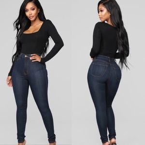 Fashion Nova High Waist Skinny Jeans